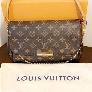 Authentic Louis Vuitton Favorite MM Crossbody bag